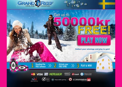 Grand Reef Casino website
