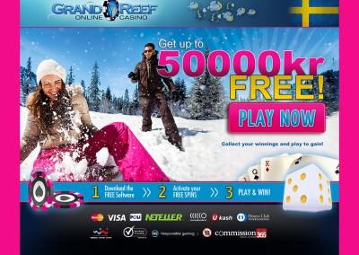 Grand Reef Casino website