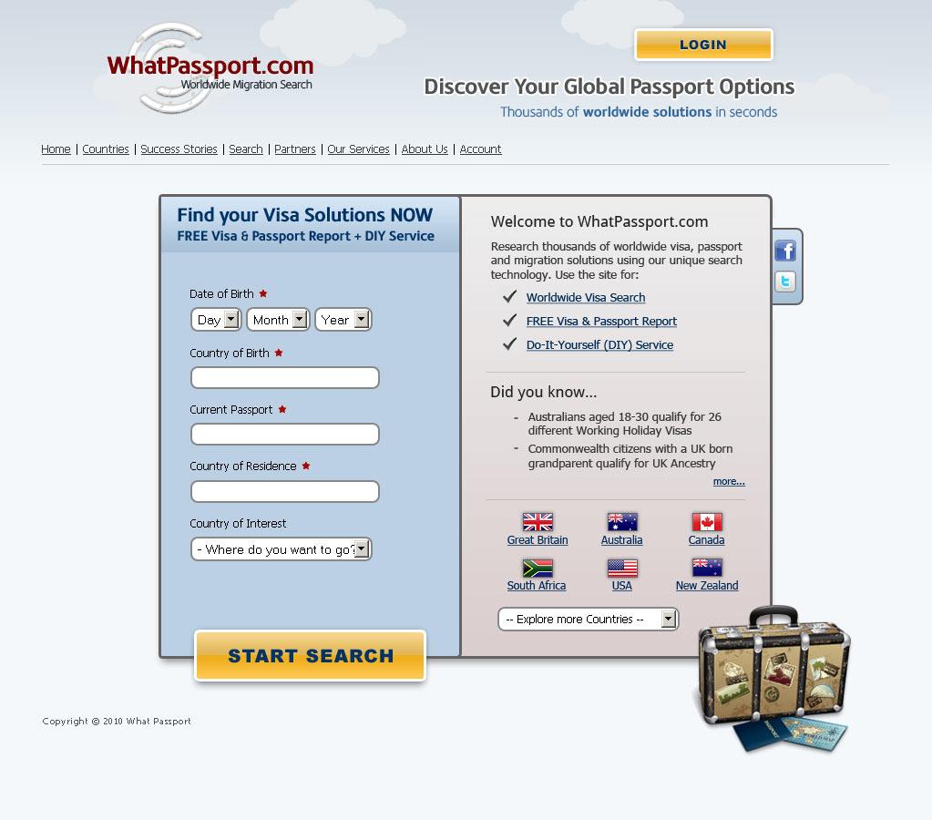 WhatPassport Design