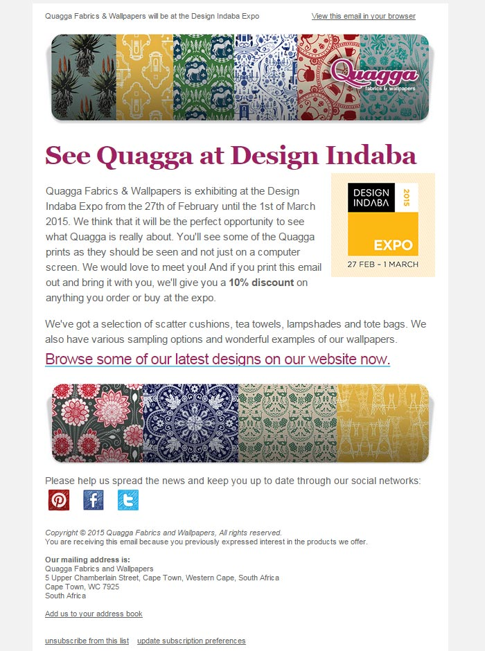 Design for Quagga website