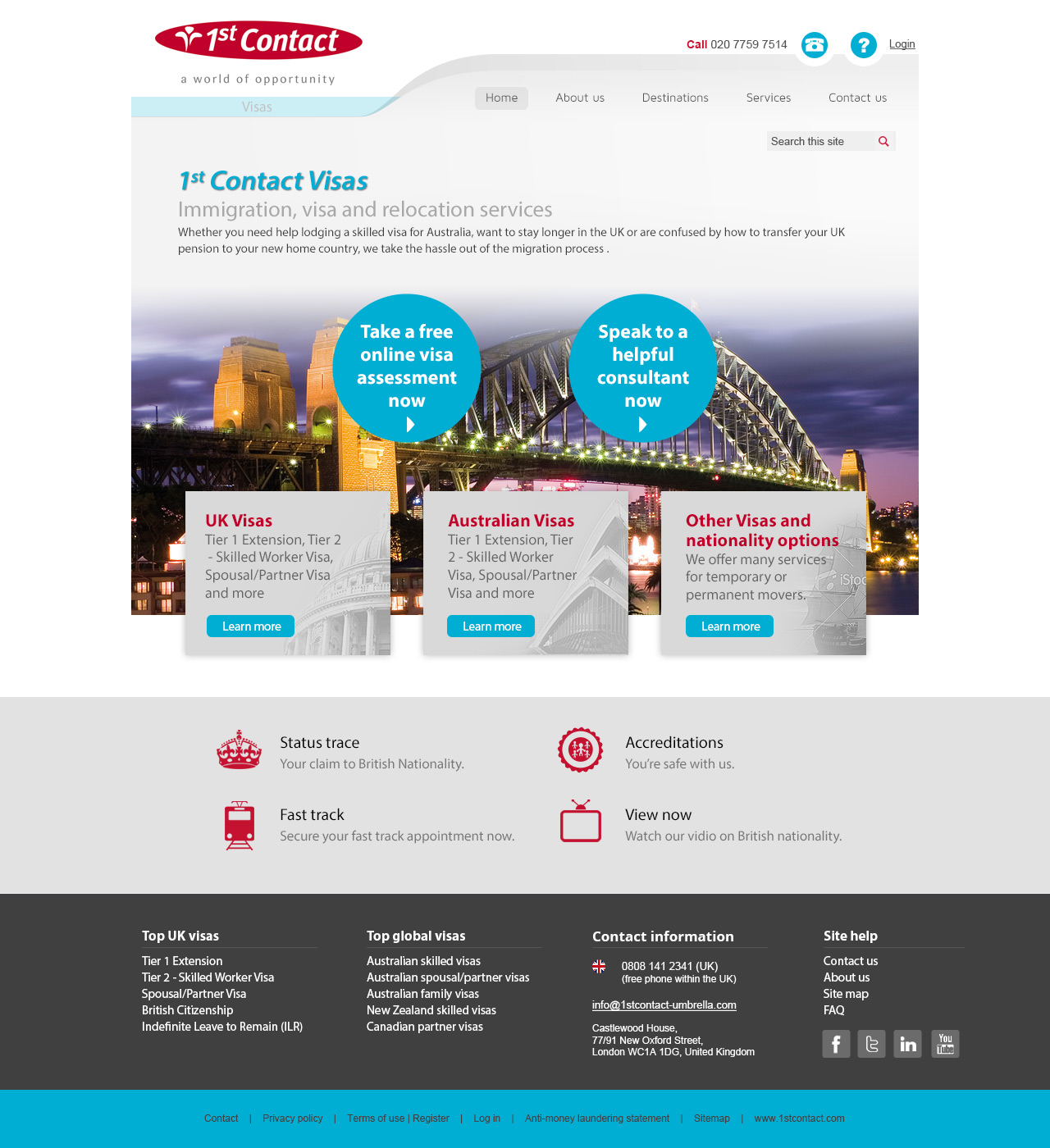 Design for Australian page