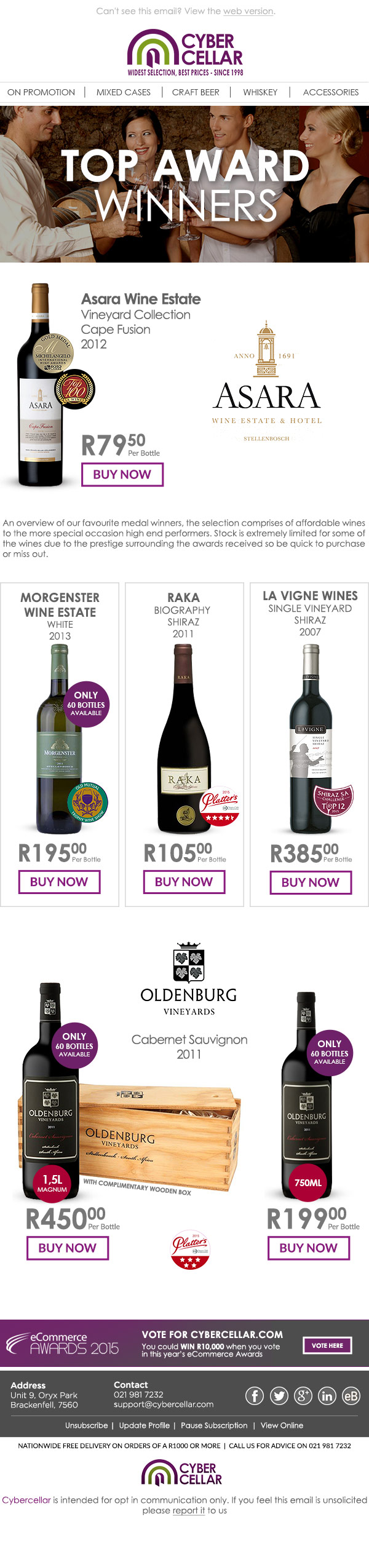 email design from Cape Town