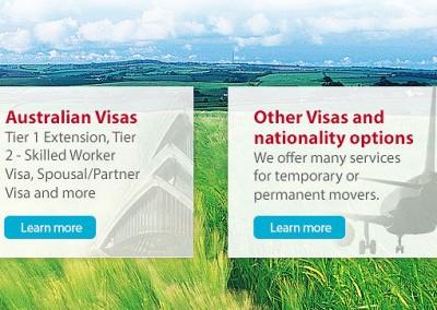 Visas website